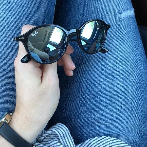 5b9608c451 ... new zealand ray ban round liteforce black sunglasses with case 217c9  4925b